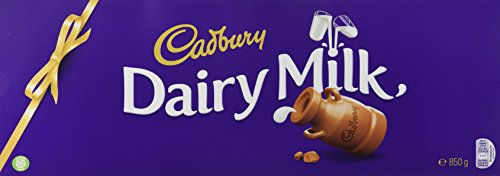 Cadbury Dairy Milk Classic Chocolate Bar, 850 g