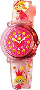 Baby Watch Kid's Pink Fairies Time Teacher Watch