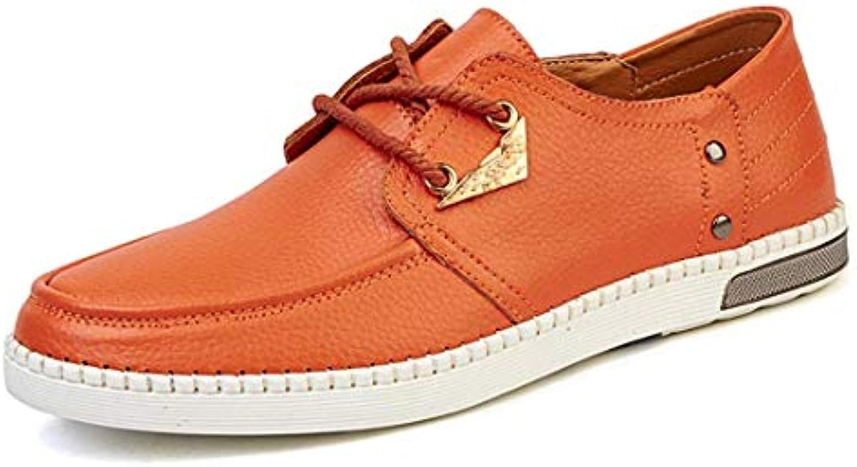 Qiusa Moda da Uomo Arancione da da da Uomo alla Moda Daily scarpe da ginnastica UK 9.5 (Coloreee   -, Dimensione   -) | riduzione del prezzo  | Scolaro/Ragazze Scarpa  c5b38d