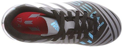 adidas Unisex Kids  Nemeziz Messi 17 4 FxG Footbal Shoes  Grey Ftwwht Cblack  13 UK Child