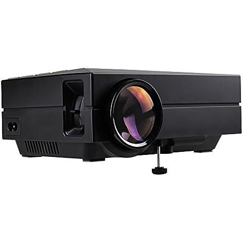 LOTOS® Mini proiettore nero HD LED Multimedia