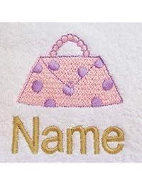 Toalla para la cara, toalla de mano, toalla de baño, baño (o) personalizado con bolso Logo y nombre de su elección,…