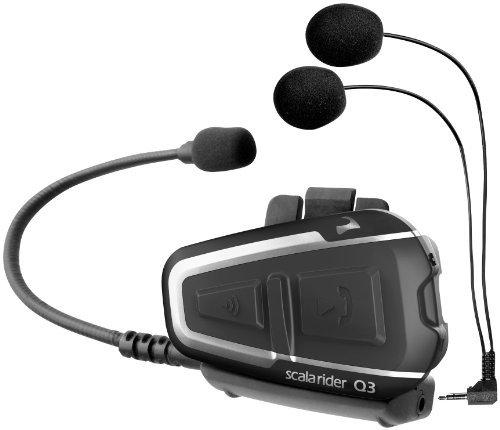 Preisvergleich Produktbild Carlo Scala Rider Q3 Headset (Single) - SRQ30002 by Scala Rider