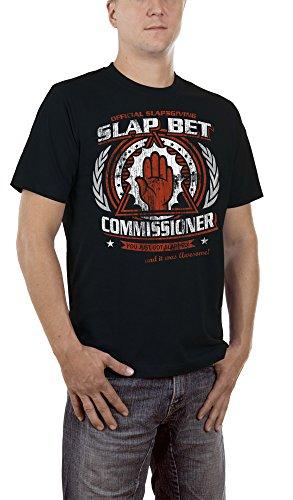 touchlines-slap-bet-commissioner-camiseta-para-hombre-negro-black-13-medium