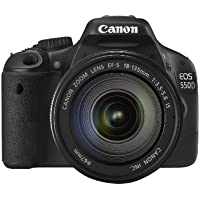 Canon 550D + EF-S 18-135 mm IS Lens