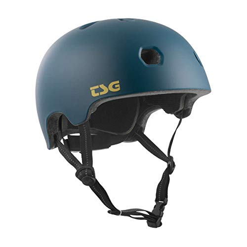 TSG Erwachsene Meta Solid Color Helm, Satin Jungle, L/XL