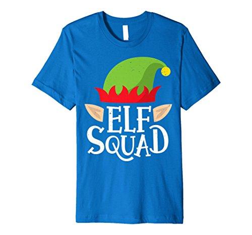 Elf Squad T Shirt Weihnachten Funny X-Mas Elfen Kostüme Tees (Weihnachten Elfen Kostüm)