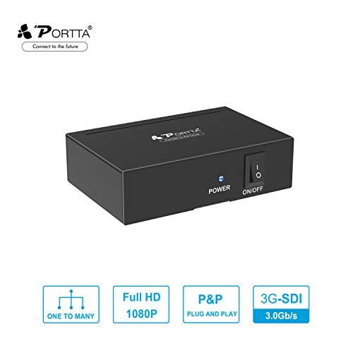 PORTTA SDI Splitter 2 Puertos 1x2 Calidad Premium