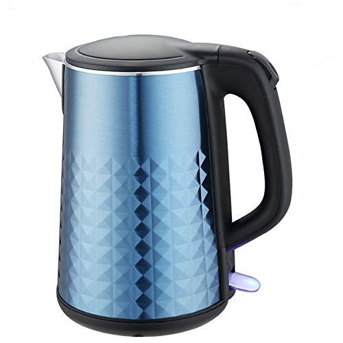 Yxst bollitore elettrico da 1,8l bollitore elettrico rapido a batteria bool off tea stainless steel