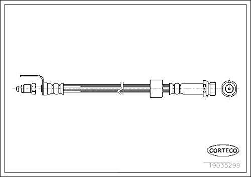 phb555 Flexible Conduite De Nouveau TRW
