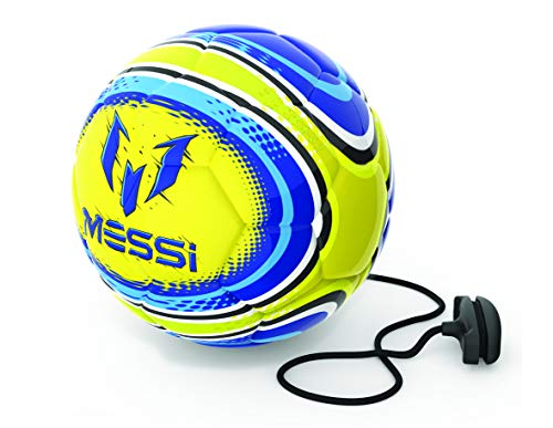 OUTDOOR met14100 Messi 2 in 1 Soft Touch Training Ball, blau