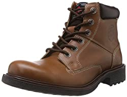 Lee Cooper Mens Tan Leather Boots - 7 UK