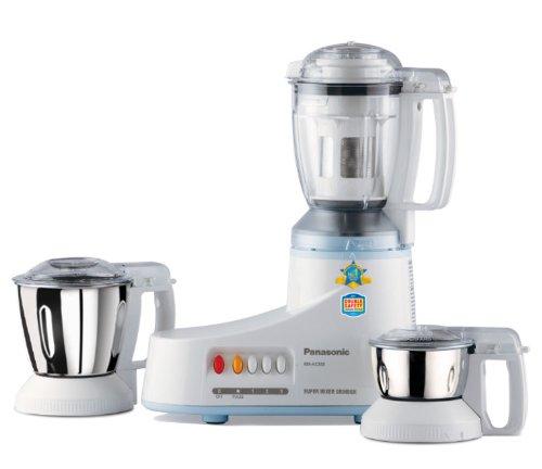 Panasonic MX-AC350 550-Watt 3-Jar Super Mixer Grinder  available at amazon for Rs.4435