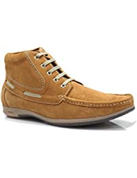John Hupper Men's Genuine Suede Leather Stylish Trend Collection Shoes- Casual Shoes, Party Shoes, Outdoor Shoes...