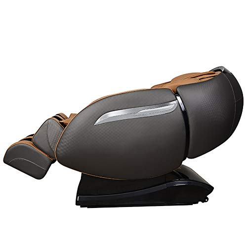 DAFA RLS-810X (H) Luxus-Massagesessel, 4D Multifunktions-Ganzkörpermassager/Relaxsessel, 3D-Surround-Sound - Luftmassagegeräte - Schwerelosigkeit - Wärmemassage im Rücken,Black