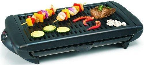 Tischgrill, E-Grill, stufenlose Temperaturregelung, abnehmbares Grillrost,leichte Reinigung