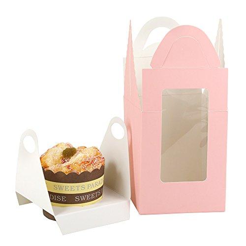 Villavivi scatoline portadolci di carta cartone per torta di festa compleanno party (30)