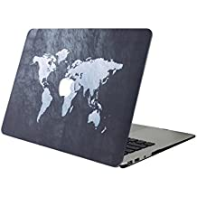 "Funda MacBook Air 13 ,L2W MacBook Air 13 Pulgadas Plástico Hard Shell dura de con Protector Case para MacBook Air 13"" (Modelo: A1369/A1466) - Mapa 38"