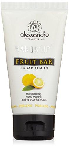Alessandro Mani Spa Fruit Bar Handpeeling zucchero limone, 1er Pack (1 x 50 ml)