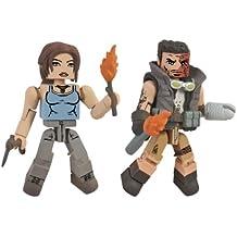 Tomb Raider Lara Croft y Molotov Scavenger Figuras de acción