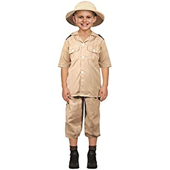 Dress up america boys zookeeper costume amazon toys games kids boys girls safari explorer world book day carnival job occupation fancy dress costume outfit 4 12 years 4 6 years solutioingenieria Images