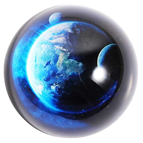 HANUR K9Crystal Galaxy Briefbeschwerer Glas Globe Halbkugel Presse Fall Kreative Dekoration Geschenk Dekoration 8