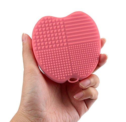 winwintom-silicone-apple-cleaning-glove-makeup-washing-brush-tool-pink