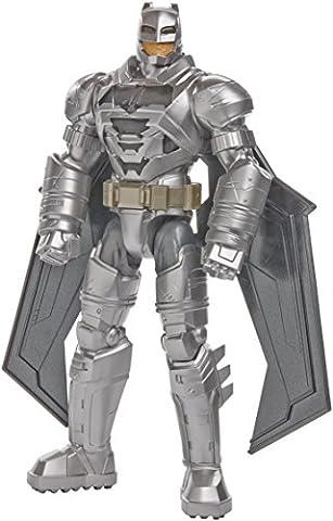 Mattel DJH09 - Batman v Superman - Dawn of Justice - 30cm Electro-Armour Batman Action Figur mit Licht- & Soundeffekt (Englische Sprache) [UK Import]