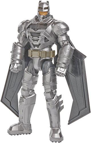 Mattel DJH09 - Batman v Superman - Dawn of Justice - 30cm Electro-Armour Batman Action Figur mit Licht- & Soundeffekt (Englische Sprache) [UK Import]
