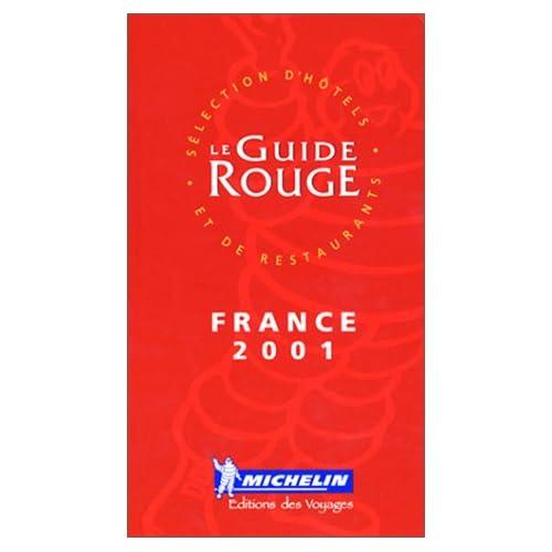 Le Guide Rouge France 2001