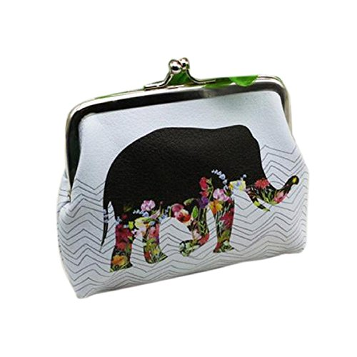 Damen-Geldbörse, ftxj stylische Mini-Süße Elefant Karte Halter Münze Geldbörse Clutch Handtasche -