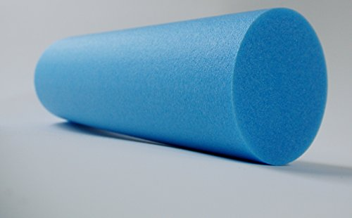 Roller Pilates Polietilene Espanso Azzurro Densità 30kg al m3MADE IN ITALY Resingomm . Rullo per esercizi Pilates (15x100)