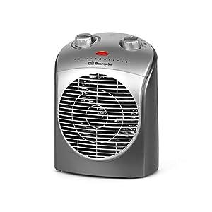 Orbegozo FH 5021 – Calefactor, termostato regulable, 2 niveles de potencia, función ventilador, protección contra…