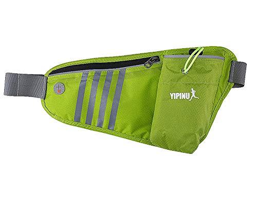 New Outdoor Hydration Running Gürtel mit Wasser Flasche | Wasserdicht Taille Pack für Damen und Herren | Universal Größe zu halten Handy, Brieftasche, und Schlüssel