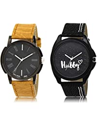 The Shopoholic Black Combo Best Combo Pack Black Dial Analog Watch For Boys Watch For Boy's