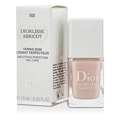 DIOR Diorlisse Abricot Smoothing perfecting nail care 500 Pink petal 10ml - 0.33 FL. OZ