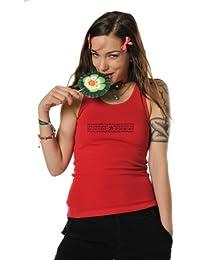 top femme simple / Débardeur Haut de 3Elfen - T-Shirt top imprimé élément magique - Tanktop
