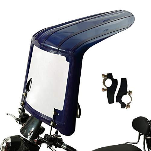 GFYWZ Regenschirme, elektrische Motorradunterstände, verbreiterte Windschutzscheiben, Winddicht, regensicher, Sonnenschutz, geeignet für Motorräder ohne Rückspiegel,A