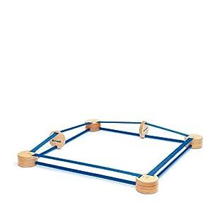 Erzi 46404 Juego y Juguete de Habilidad/Activo Estuche de Juego - Juegos y Juguetes de Habilidad/Activos (Estuche de Juego, Madera, Madera, 3 año(s), 12 año(s), Niño)