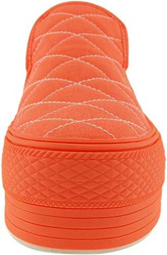 Maxstar  C50-Stitch,  Damen Sneaker Low-Tops All-Neon Orange