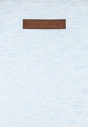 Naketano Male Sweatshirt Italienischer Hengst Langen IV Cloudy Melange