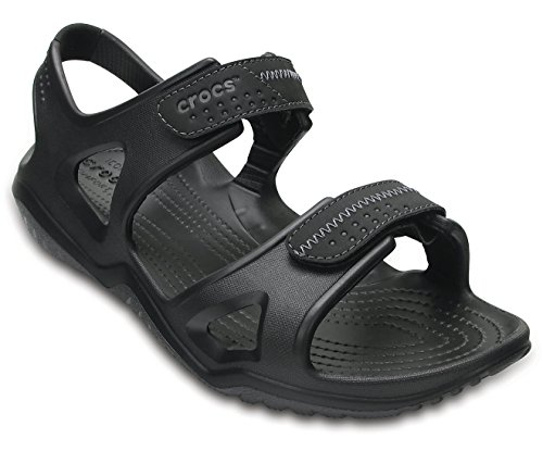 Crocs Swiftwater River Men Sandal in Black Sandals & Floaters at amazon