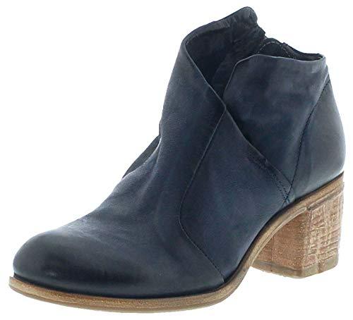 FB Fashion Boots Damen Schuhe A.S.98 597211 Airsteps Stiefelette Lederschuhe Blau 41 EU inkl. Schuhdeo
