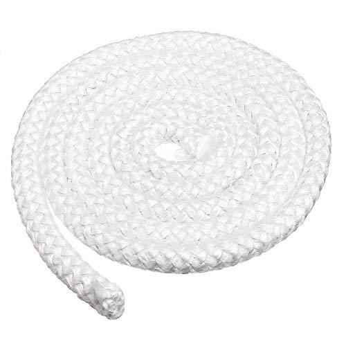 Cuerda de fibra de vidrio para estufa y calentador, 2 m, 12,7...