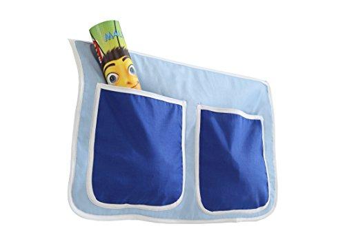 Ticaa Kinder Betttasche für Hoch- und Etagenbetten - Kinder-möbel-etagenbetten