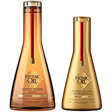 L'Oreal Professional Professionel Mythic Oil Shampoo 250ml, Conditioner 200ml Duo Thick Hair