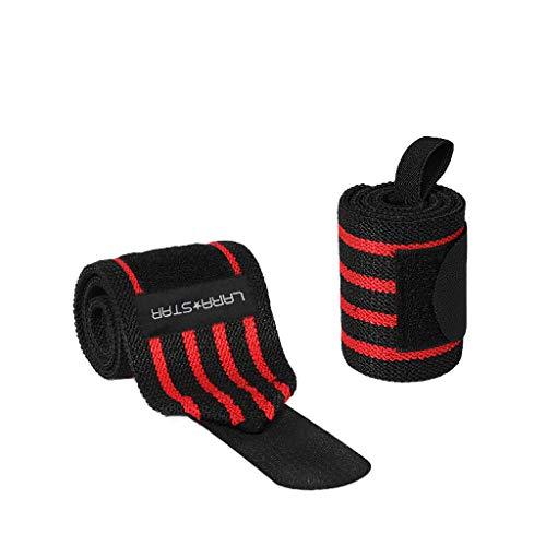 Handgelenksschoner Kmgjc Wrist Wraps - Heavy Duty Professional Standard Gewichtheben Wrist Wraps.One Größe passt für alle (paarweise verkauft) (Farbe : A, größe : One Size Fits All)