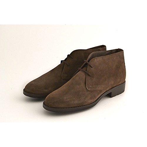 Scarpe polacchino donna Soldini in camoscio marrone 19388 numero 39