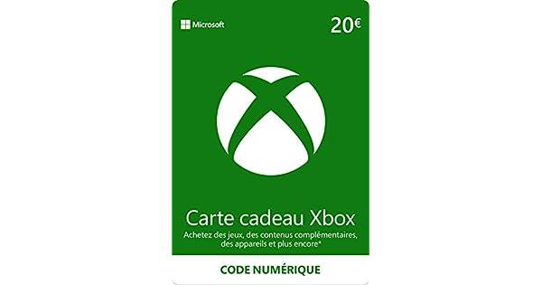 Carte Cadeau Xbox Gratuit Sans Verification.Credit Xbox Live De 20 Eur Code Digital Xbox Live