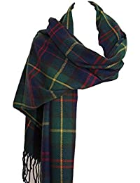 Pour femme Imprimé écossais carreaux Grande Châle Pashmina Écharpe longue Uk d39d947210b